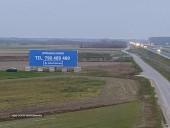 Do wynajęcia billboard 18 x 6 przy trasie S17 (Warszawa-Lublin)